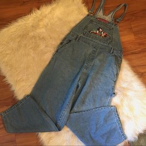 Vintage Mickey Signature Jerry Leigh Overalls